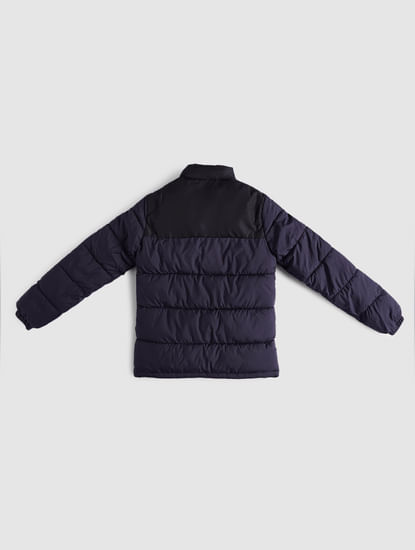 BOYS Blue Puffer Winter Jacket