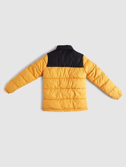 BOYS Yellow Puffer Winter Jacket