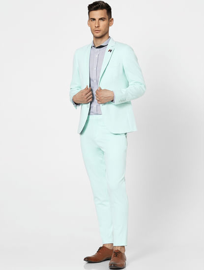 Green Formal Suit Blazer