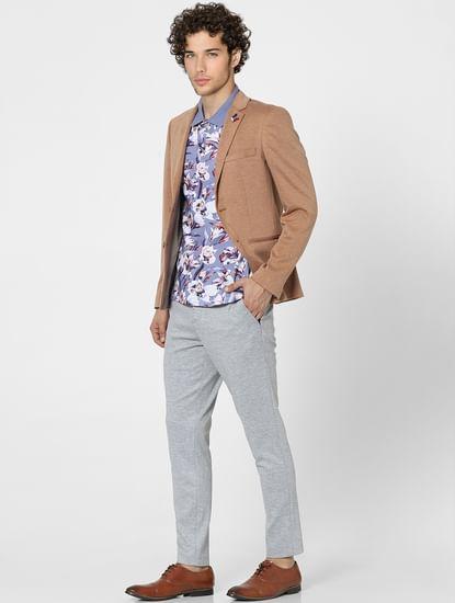 Brown Formal Blazer