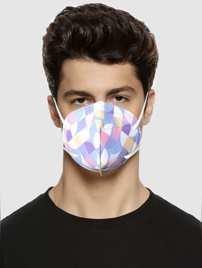 Pack of 3 All Over Print N95 Mask with PM 2.5 Filter