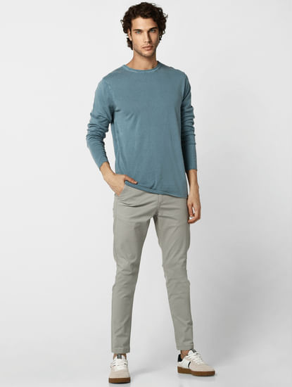 Blue Washed Pullover