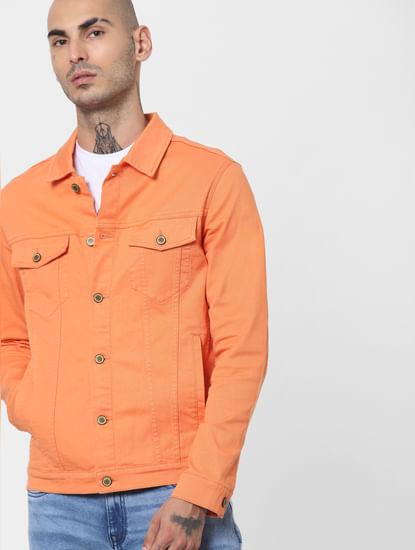 Dusty Orange Solid Jacket