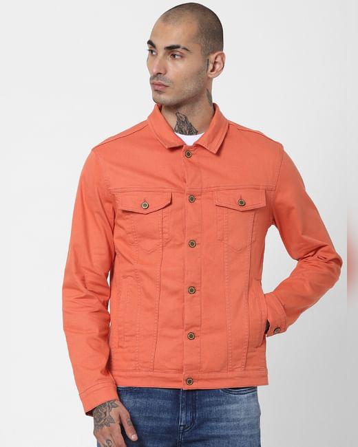 Orange Solid Jacket