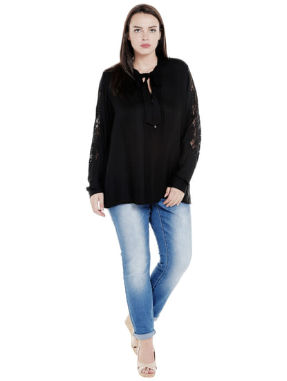 Light Blue Mid Rise Slim Fit Jeans