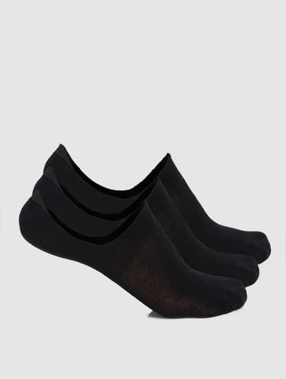 Pack of 3 Footies - Black