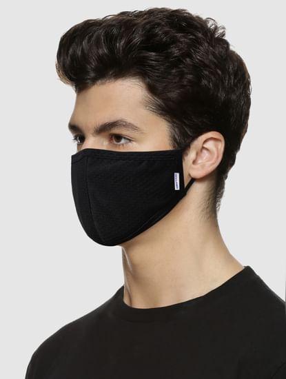 Black 5-Layered 90 Respirator Safety Mask
