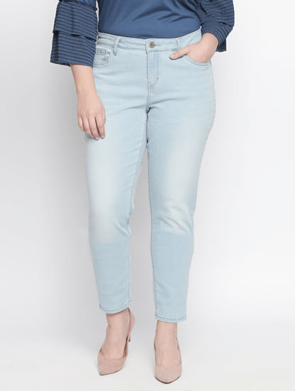 Light Blue Skinny Fit Jeans
