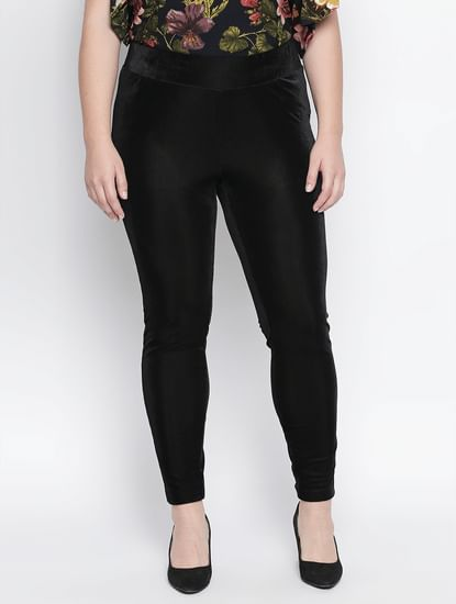 Black Slim Fit Leggings