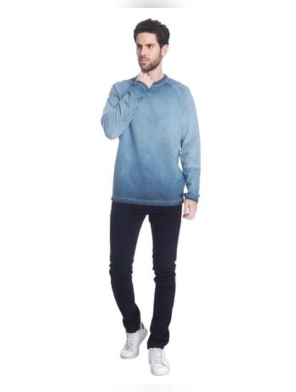 Blue Faded Sweatshirt