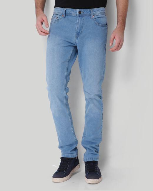 Light Blue Sim Fit Jeans