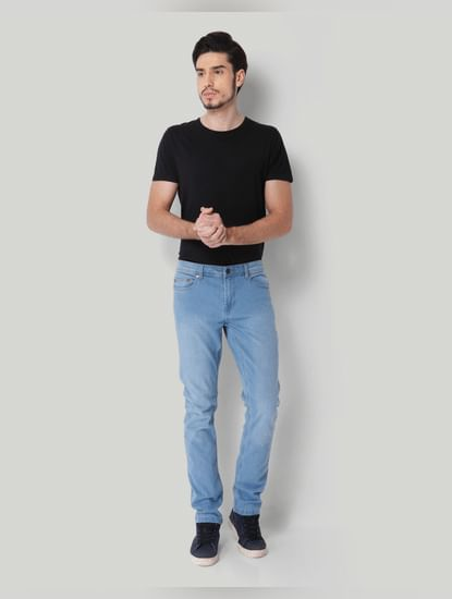 Light Blue Sim Fit Jeans