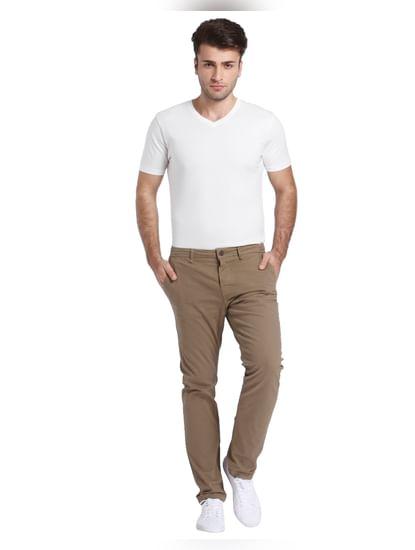 Brown Chino Pants