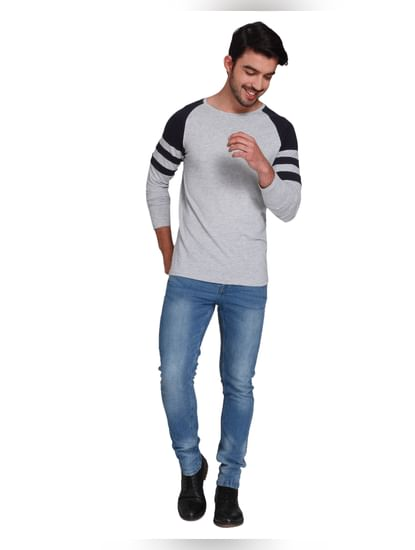 Light Grey Crew Neck T-shirt