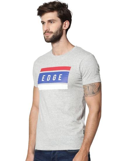 Light Grey Crew Neck T-shirt