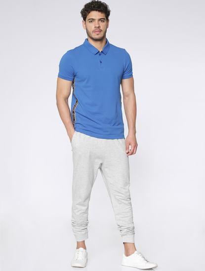 Light Grey Drawstring Sweatpants