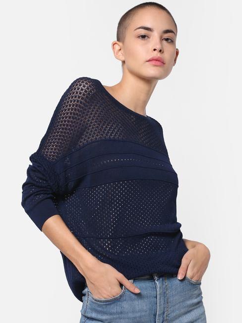 Dark Blue Pullover
