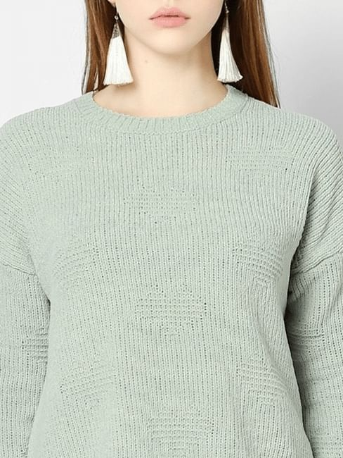 Light Green Pullover