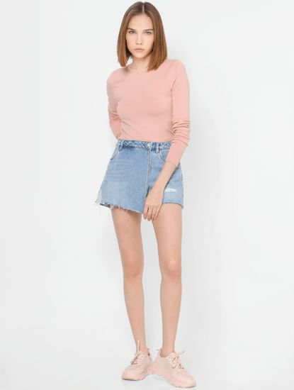 Pastel Pink Pullover