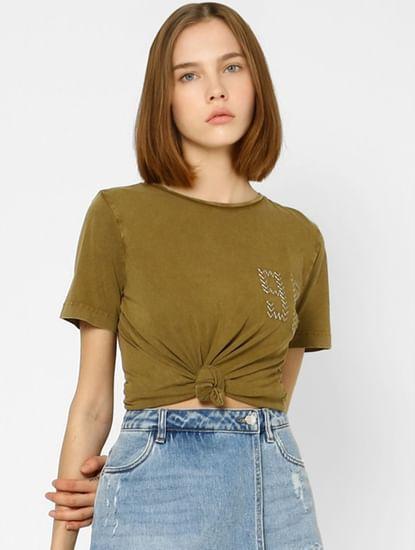 Olive Washed T-shirt