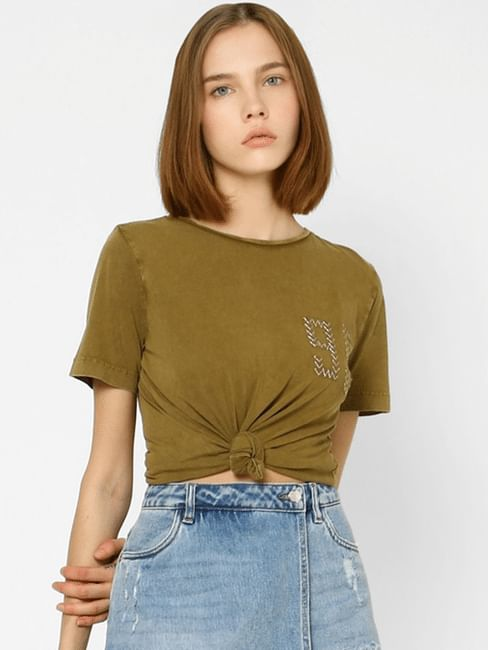 Olive Washed T-shirt