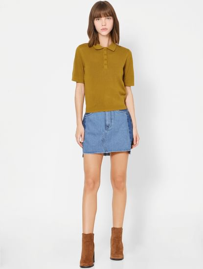 Olive Polo T-shirt