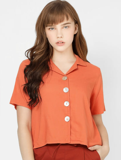 Coral Short Sleeves Shirt
