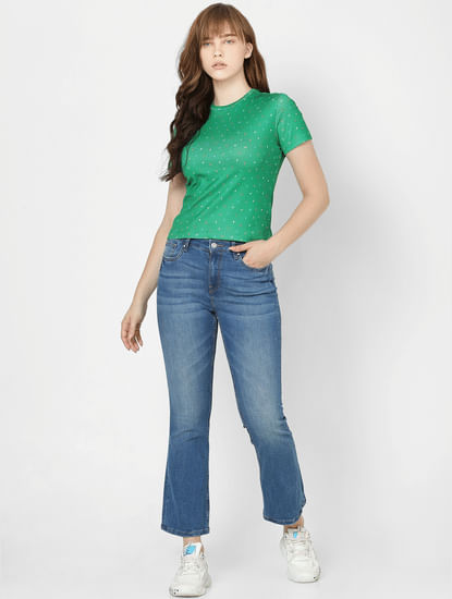 Green All Over Print T-shirt