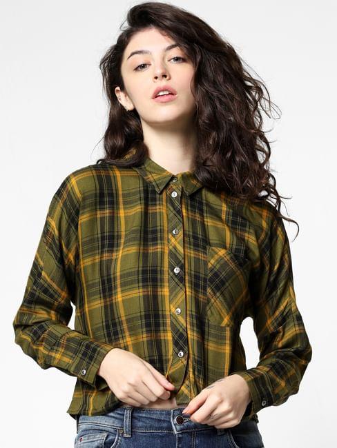 Green Check Shirt