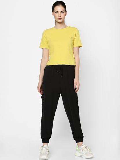 Yellow Textured Top