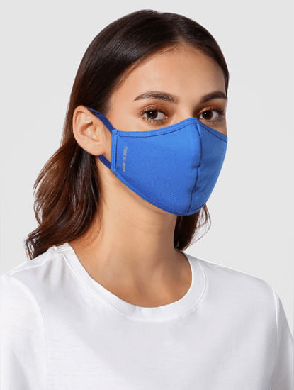 Pack of 3 Text Print 3PLY Anti-Bacterial Mask
