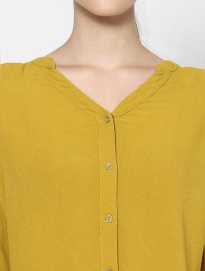 Yellow Long Shirt