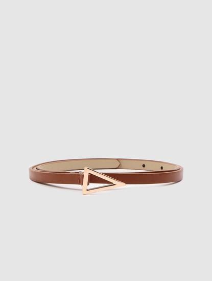 Brown Dress Belt