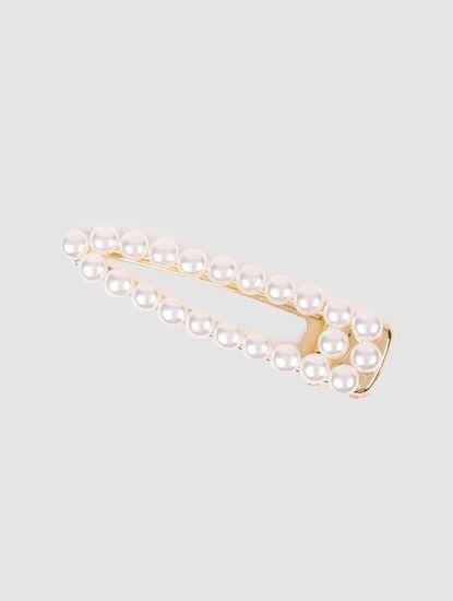 Gold Pearl Detail Hair Pin
