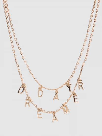 Gold Day Dreamer Layered Necklace