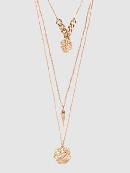 Gold Neuva Layered Necklace