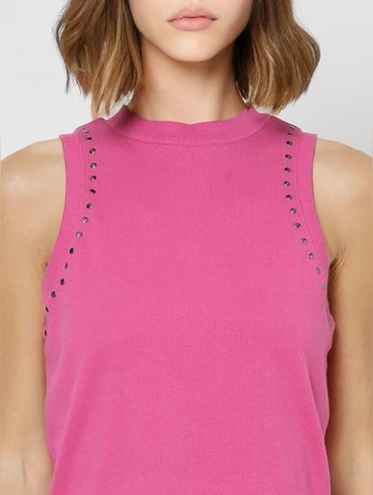 Pink Embellished Top