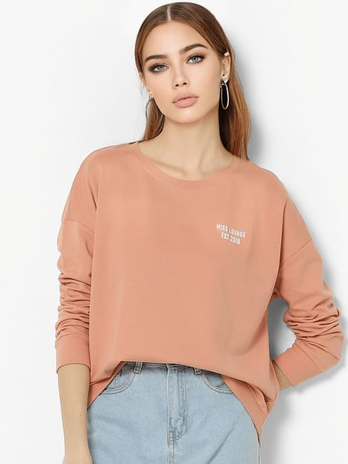 Peach Sweatshirt
