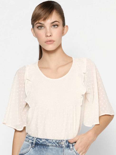 Off-White Angel Sleeves Top