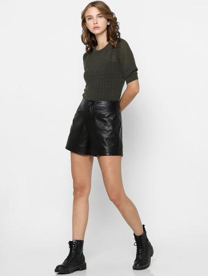 Green Organic Cotton Pullover