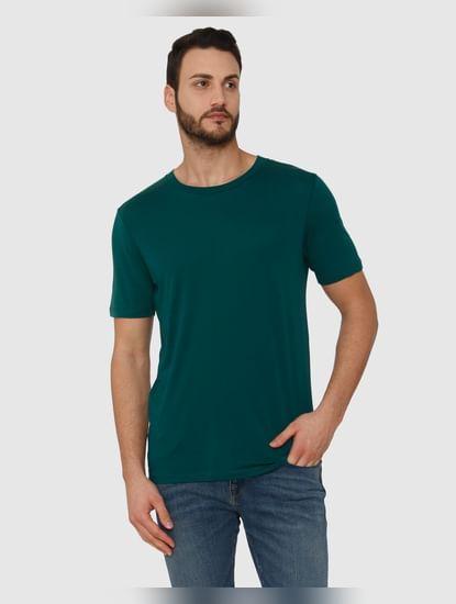Green Crew Neck T-Shirt
