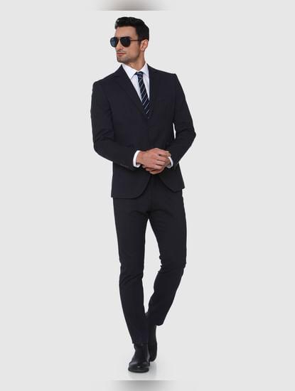 Navy Blue Formal Slim Fit Blazer