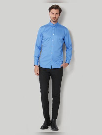 Blue Full Sleeves Shirt