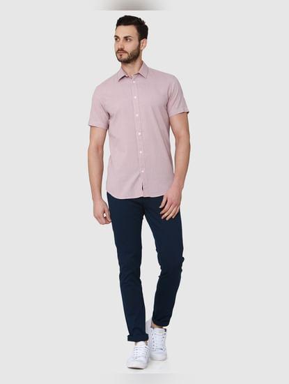 Brown Short Sleeves Shirt