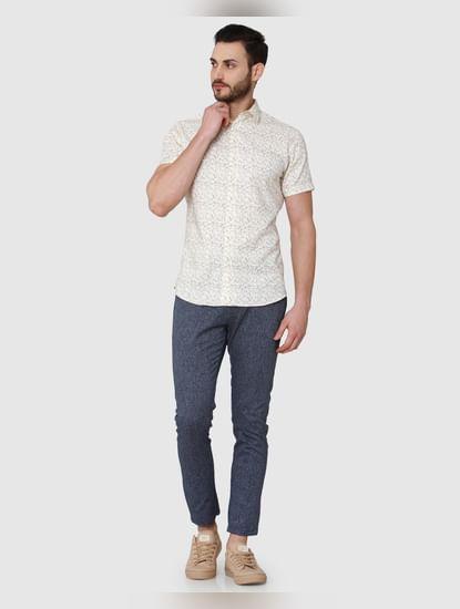 Off-white Short Sleeves Shirt