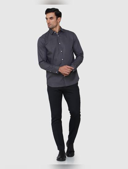 Grey Full Sleeves Shirt