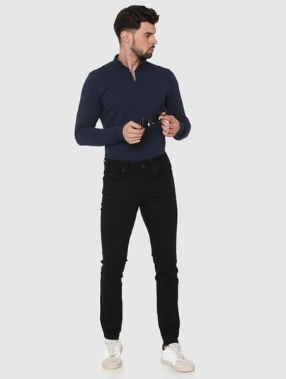 Black Pete Skinny Fit Jeans