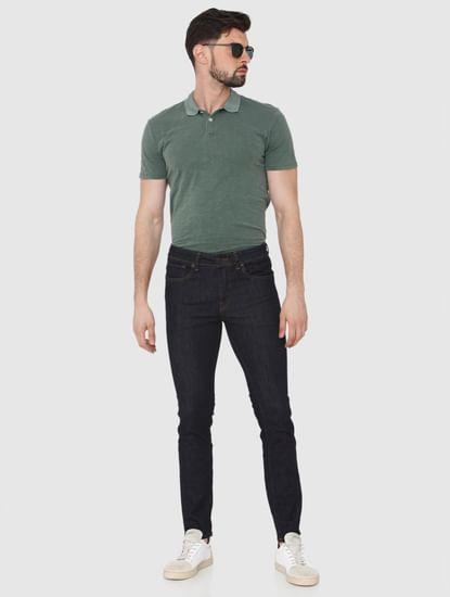 Dark Blue Pete Skinny Fit Jeans