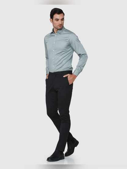 Dark Grey Formal Trousers