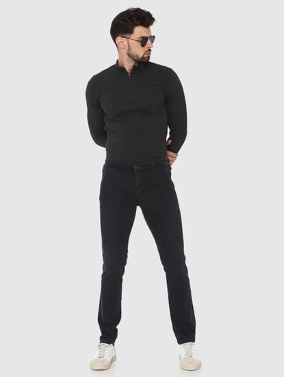 Black Leon Slim Fit Jeans